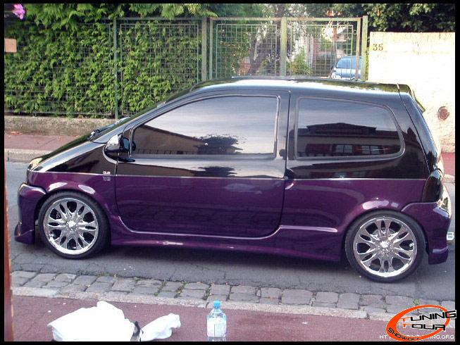 tuning tour renault twingo de 1998. Black Bedroom Furniture Sets. Home Design Ideas