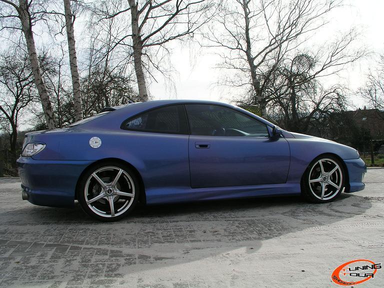 Tuning tour peugeot 406 coup de 1999 - Pare choc 406 coupe tuning ...